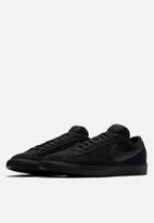 Nike - Blazer low leather - black