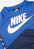 Nike - B nsw poly crew - blue & white