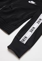Nike - Tracksuit tricot - black & white
