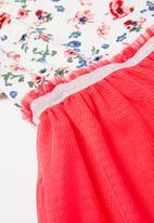POP CANDY - Girls mesh dress - pink