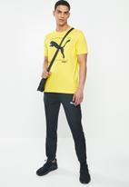 PUMA - Nu-tility graphic tee - yellow