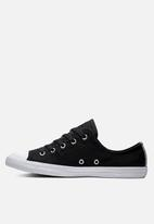 Converse - Chuck Taylor All Star dainty sneakers - black