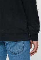 Rip Curl - Script crew sweater - black