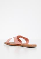 POLO - Caroline flat sandal - pink