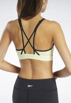 Reebok - Hero strappy padded bra - yellow