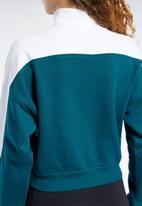 Reebok - Classics turtleneck - green & white