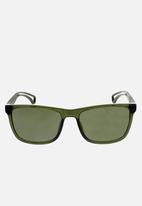 CALVIN KLEIN JEANS - City crystal cargo sunglasses - green