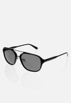 CALVIN KLEIN JEANS - City sunglasses - black