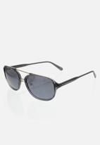 CALVIN KLEIN JEANS - City crystal sunglasses - charcoal