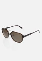 CALVIN KLEIN JEANS - City crystal sunglasses - brown