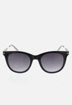 CALVIN KLEIN JEANS - City shiny sunglasses - black