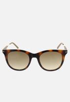 CALVIN KLEIN JEANS - City warm tortoise sunglasses - brown