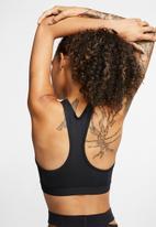 Nike - Swoosh band non padded bra - black