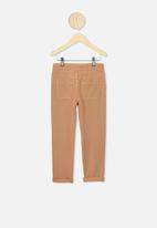 Cotton On - Blair tie front jean - brown