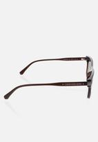 CALVIN KLEIN JEANS - Contour crystal sunglasses - brown
