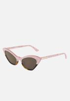 McQ - Mq0189s-004 52 sunglasses - pink & brown