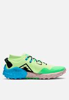 Nike - Wildhorse 6 - barely volt / black-poison green