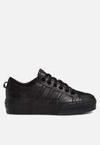 adidas Originals - Nizza platform - core black