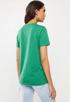 Diesel  - T-sily T-shirt - green