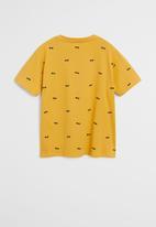 MANGO - T-shirt stamp  - yellow