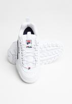 FILA - Disruptor ii - white / navy / red