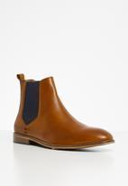 Pringle of Scotland - Adam chelsea boot - tan
