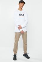 RVCA - Attacker tee - white