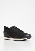 Pringle of Scotland - Xander derby lace up - black