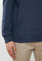 RVCA - Split pin pullover - blue