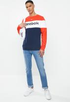 Reebok - Fleece crew sweatshirt - multi