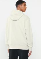 Nike - Nsw club pullover gx hoodie - beige