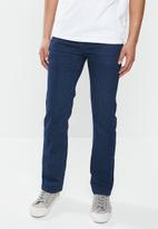 JEEP - Basic straight leg jeans - indigo