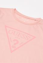 GUESS - 3 quater Khloe core tri dress - pink