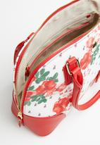 POLO - Freedom floral dome - red