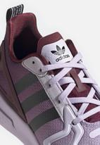 adidas Originals - ZX 2K Flux - purple tint /core black / maroon