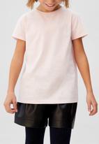 MANGO - T-shirt basicag - pink