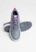 Nike - Nike court borough low 2 - smoke grey/purple nebula-watermelon