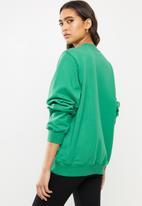 Diesel  - F-ang sweatshirt - green