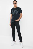 Lee  - Detroit straight fit jean - black