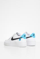 Nike - Nike air force 1 - white/black-blue fury