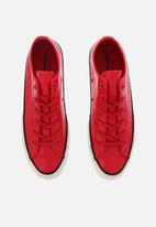 Converse - Chuck 70 patented 90's leather ox l  - cherry red/black