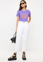 Diesel  - T-sily T-shirt - purple