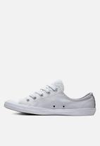 Converse - Chuck Taylor All Star Dainty Sneakers - Silver