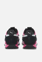 PUMA - Future rider neon play - puma black-luminous pink