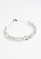 Superbalist - Diamante alice band - silver