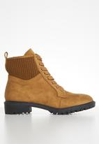Superbalist - Leandra lace-up boot - tan