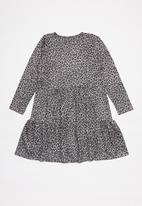 Superbalist Kids - Animal print dress - grey animal