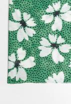 Superbalist - 2 pack snood mask set - green floral/black