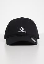 Converse - Washed cap -black