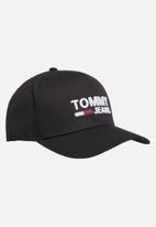 Tommy Hilfiger - Tommy jeans logo cap - black